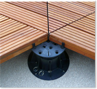 Bodenträger für Terrassen