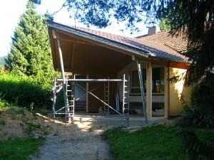 Haus wird umgebaut